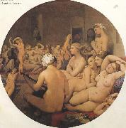Jean Auguste Dominique Ingres The eTukish Bath (mk45) oil painting picture wholesale